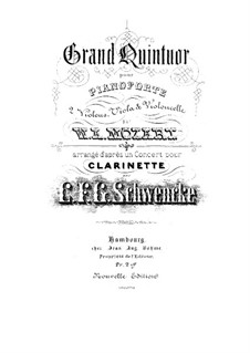 Concerto for Clarinet and Orchestra in A Major, K.622 by W