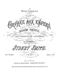Fantasia No.2 on Themes from Operetta 'Orpheus in the