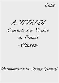 Violin Concerto No.4 in F Minor 'L'inverno', RV 297 (Il