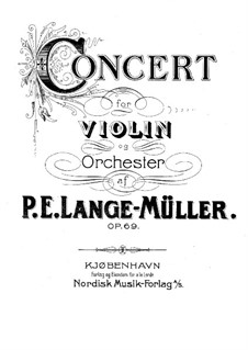 Concerto for Violin and Orchestra in C Major, Op.69 by P.E