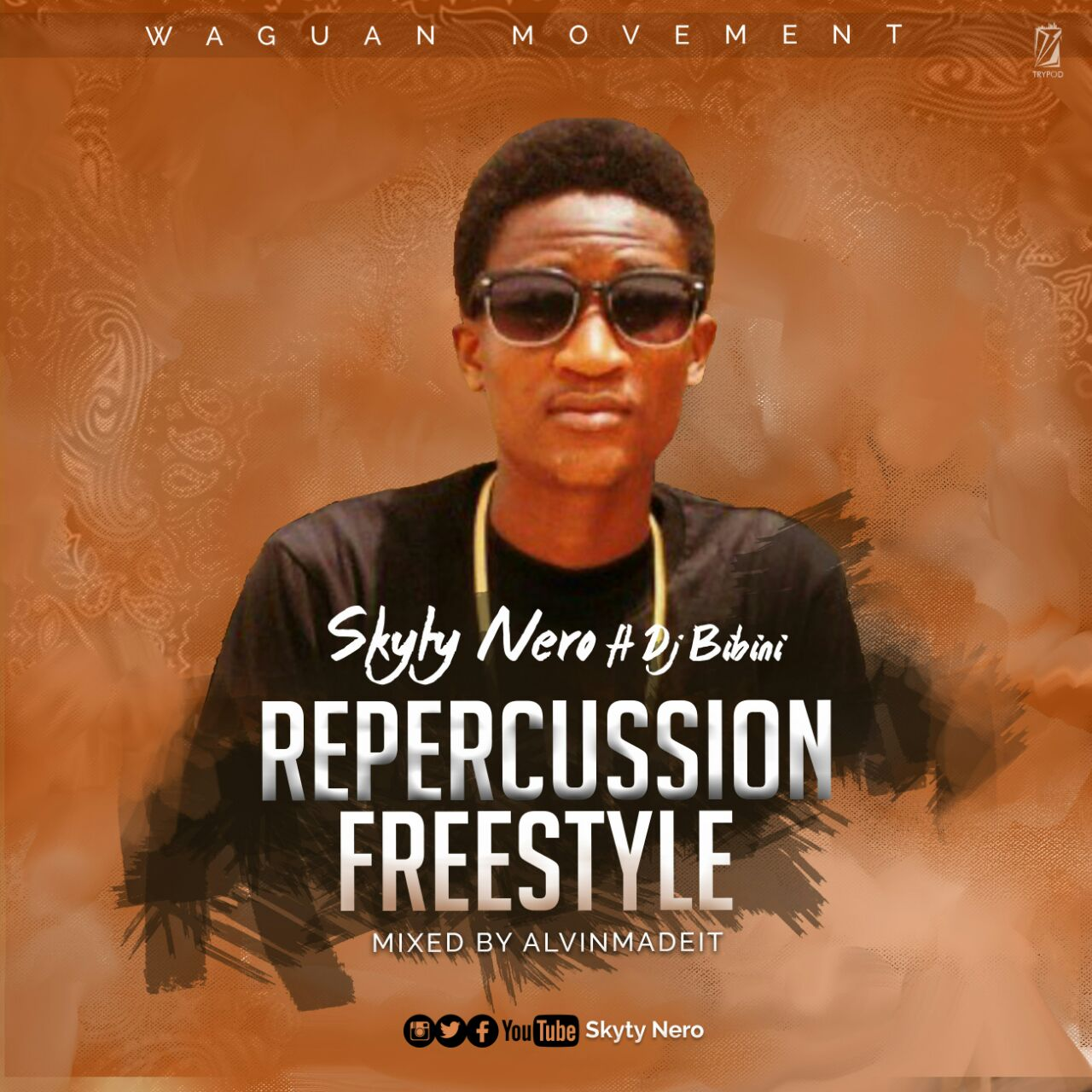 Skyty Nero – Repercussions Freestyle Ft Dj Bibini (Mixed by Alvinmadeit)