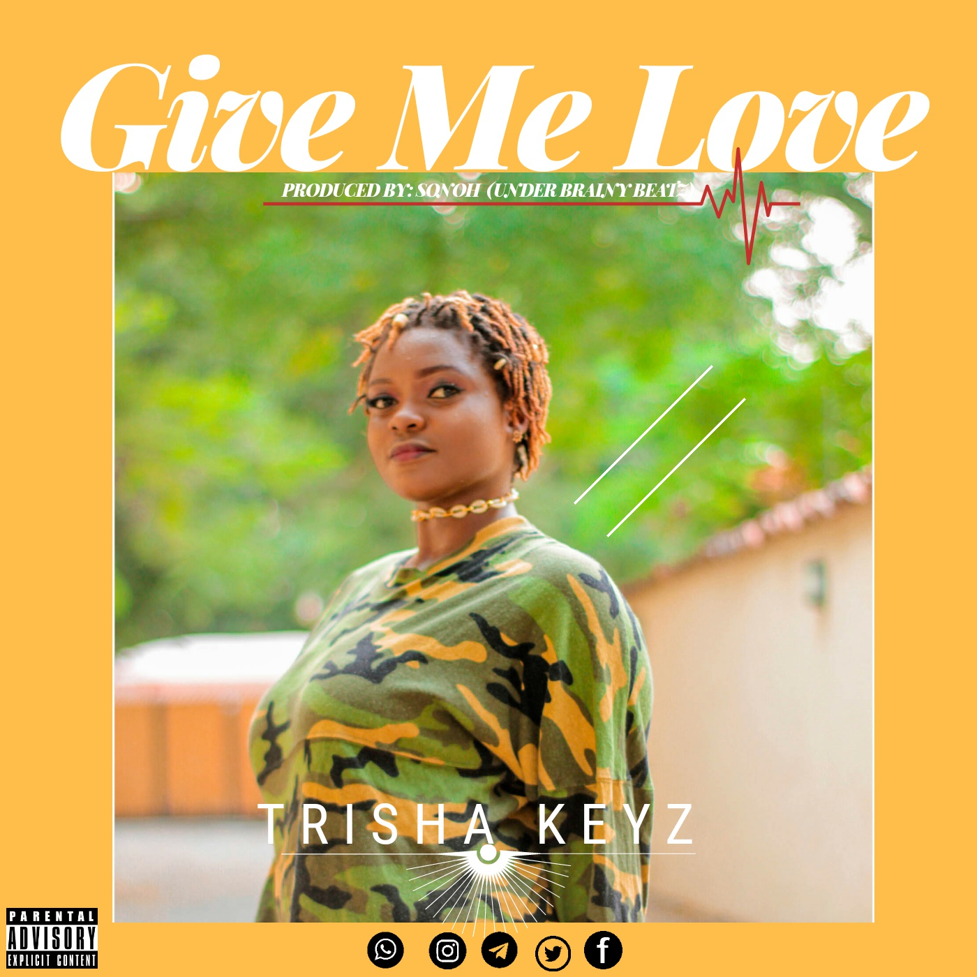 Trisha Keyz- Give Me Love (Prod by Sonoh)