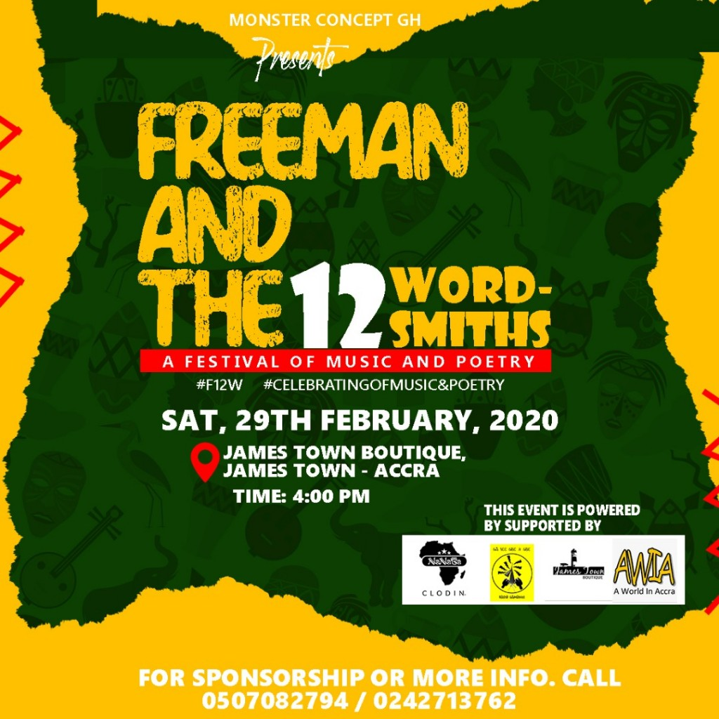 "Monster Concepts To Hold Maiden Edition of ""FREEMAN AND THE 12 WORDSMITHS"""