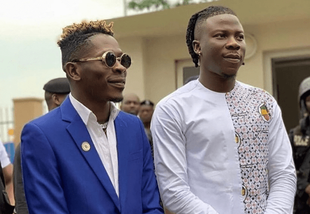Ghana Is Proud Of You – Shatta Wale Applauds Stonebwoy In New Post