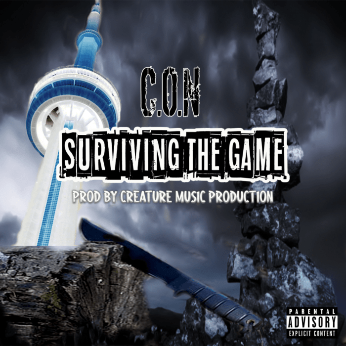 C.O.N – Surviving The Game (Prodby. Creature Music Production)