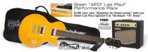 epiphone slash afd les paul special-ii performance pack
