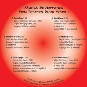 CD Face Pentamere vol1