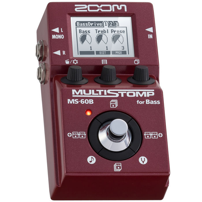 ZOOM MS-60B MultiStomp gitarska pedala