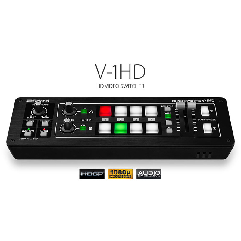 Roland V-1HD Video Mixer