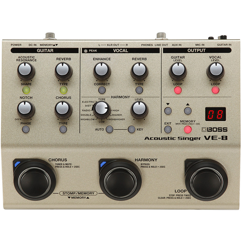 ve-8 Vocal Processor