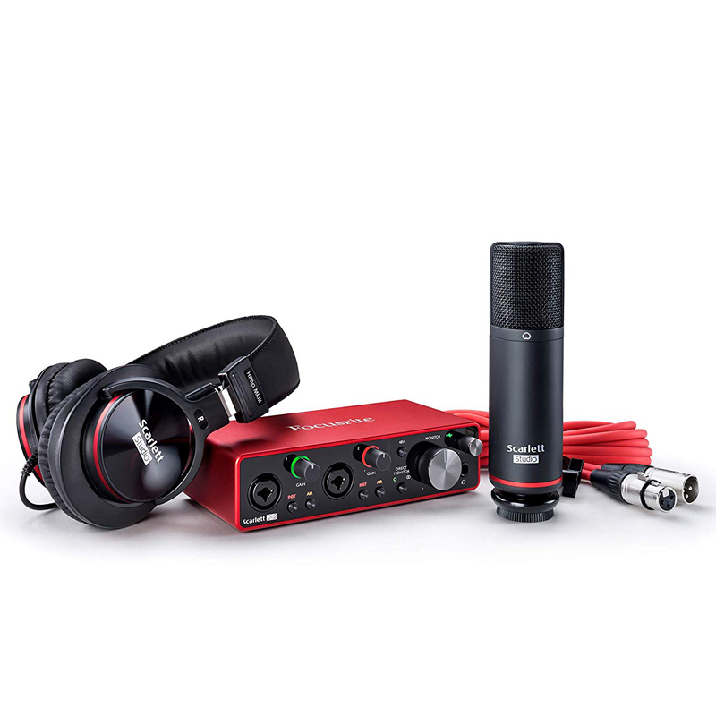 Focusrite Scarlett 2i2 Studio 3rd Gen audio interfejs