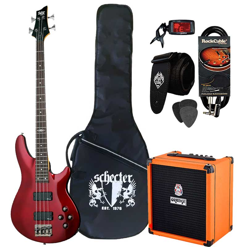 SGR by Schecter C-4 Crush25 bas paket