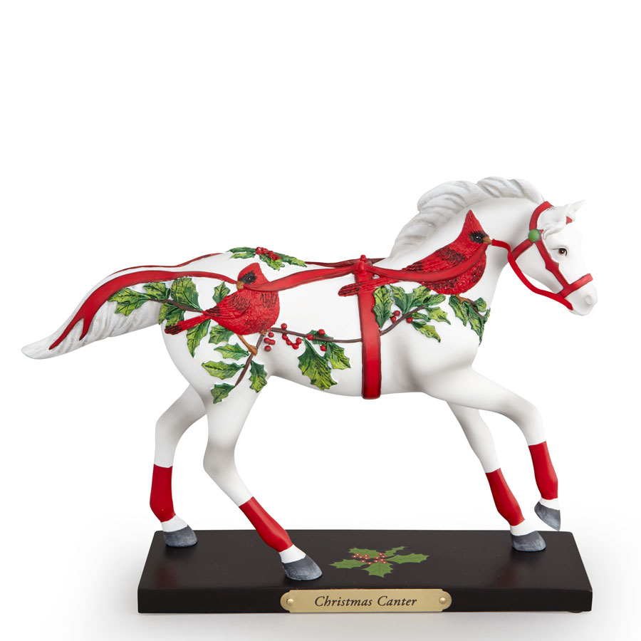 Christmas Canter Holiday Ponies Figurines One Price