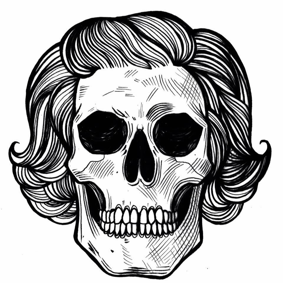 Mama Skull graphic