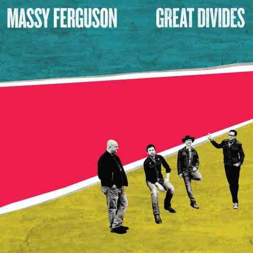 Massy Ferguson colourful album cover