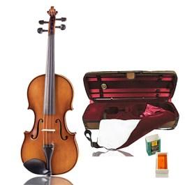Glaesel VI30DLX Deluxe Violin Outfit