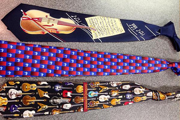 Musical Dress Ties