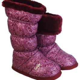 Grishko Warm-Up Boots - Burgandy