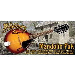 Washburn M1K-A Mandolin Package