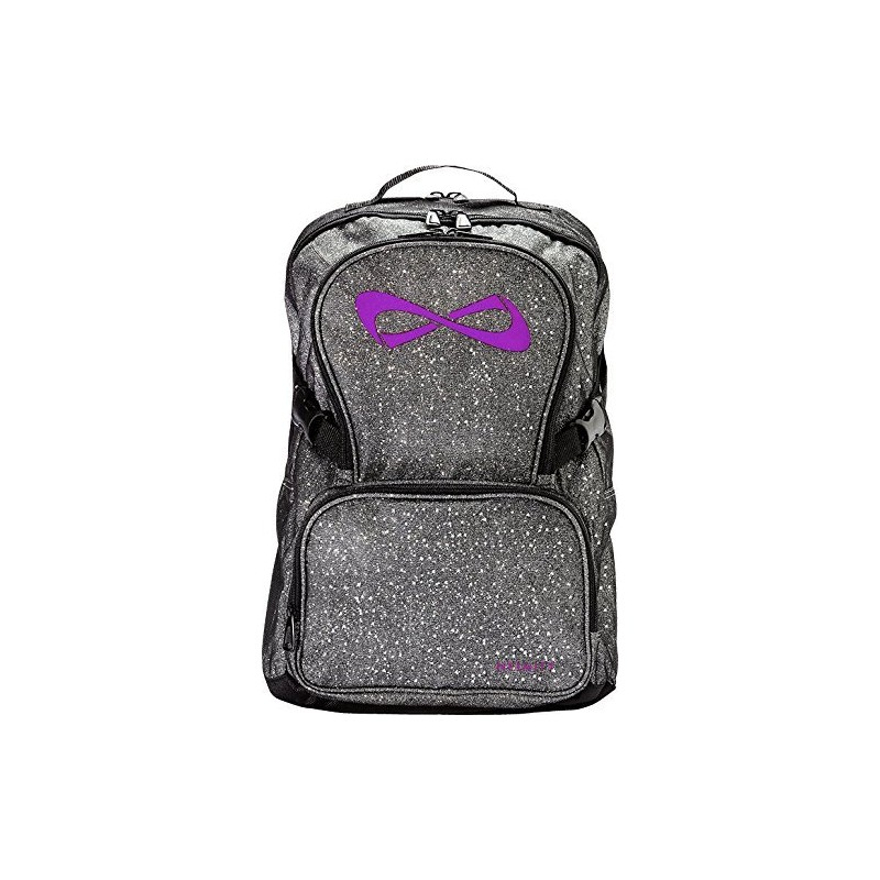 classic red and information cheer backpacks nfinity backpack bows buttons open infinity store