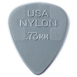 Dunlop Nylon Standard Guitar Picks Players Pack of 12