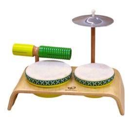 green-tones-drum-kit