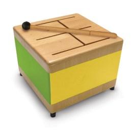 Green Tones Square Tone Drum