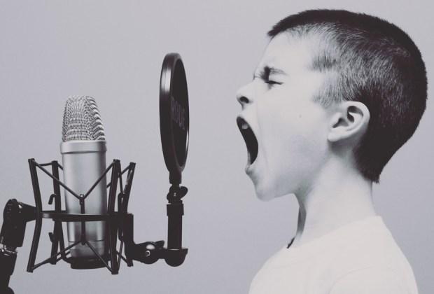 Losing voice tip jar