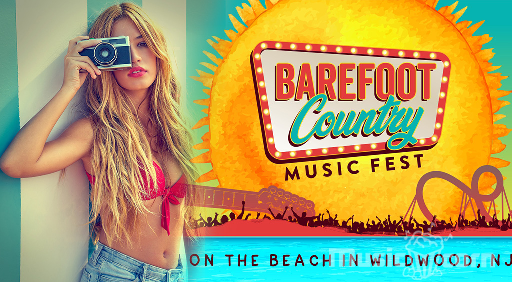 The BAREFOOT COUNTRY MUSIC FESTIVAL