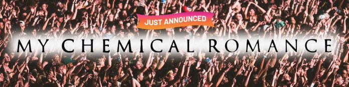 headliner of the music midtown festival – My Chemical Romance