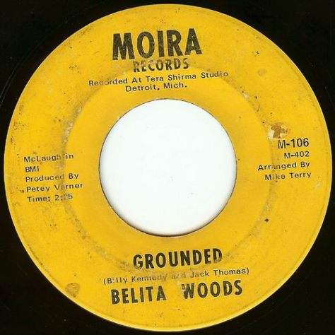 "Belita Woods – Grounded & Magic Corner [7""] (Moira) 1967 (Re:Up)"