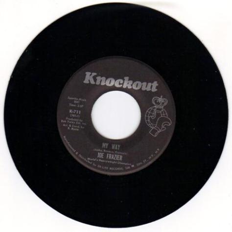 """Joe Frazier – My Way (Knockout Records) [7""""] '1971"""