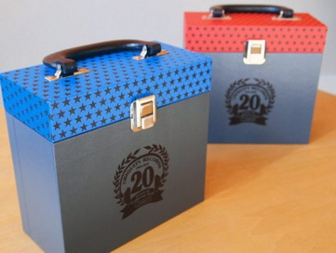 GROOVE MERCHANT 20 - 7'' Record Box