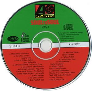Soul To Soul 1971 CD Soundtrack