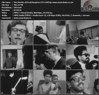 The Murder of Fred Hampton 1971 DVDrip