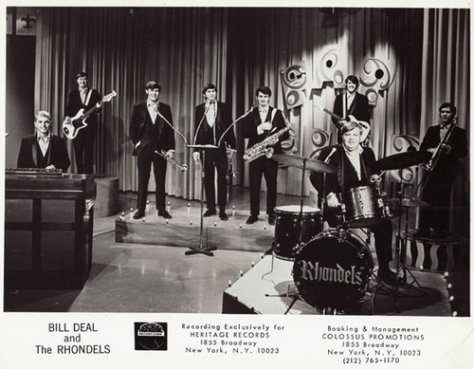 Bill Deal & The Rhondels (1960s Press Photo)