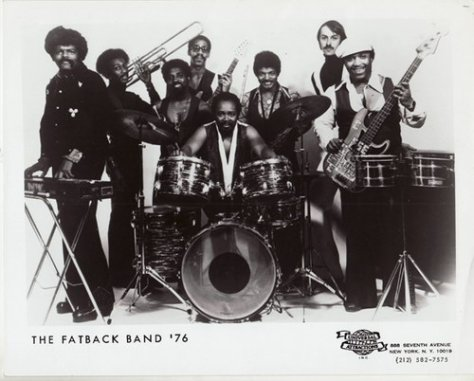 The Fatback Band (1976 Press Photo)