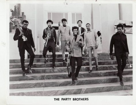 The Party Brothers (1970s Funk Press Photo)