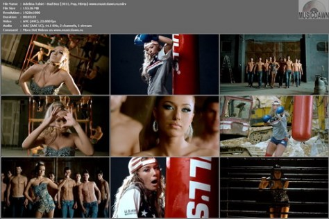 Adelina Tahiri - Bad Boy (2011, Pop, HD 1080p)