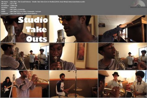 Aloe Blacc & The Grand Scheme - Studio Take Outs (Live in Studio) 2010, Soul, HDrip