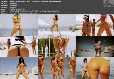 Andreea Banica - Love In Brasil (2010, House, 720p)