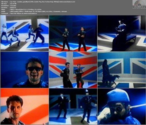 Кар-Мэн - London, goodbye! (1991, Exotic Pop, Rus Techno Rap, VHSrip)