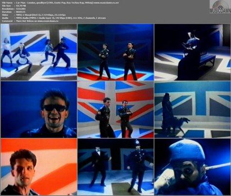 Кар-Мэн – Лондон гудбай / Car-Men – London, Goodbye! [1991, VHSrip] Music Video (Re:Up)