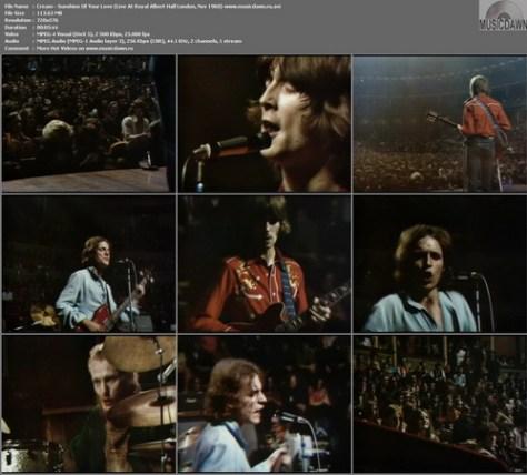 Cream - Sunshine Of Your Love (Live At Royal Albert Hall London, Nov 1968)