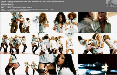 Darren Styles And Breeze Ft. Karen Danzig - Heartbeatz (2005, Trance, DVDrip)