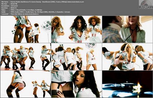 Darren Styles and Breeze Ft. Karen Danzig – Heartbeatz [2005, HDrip] Music Video (Re:Up)