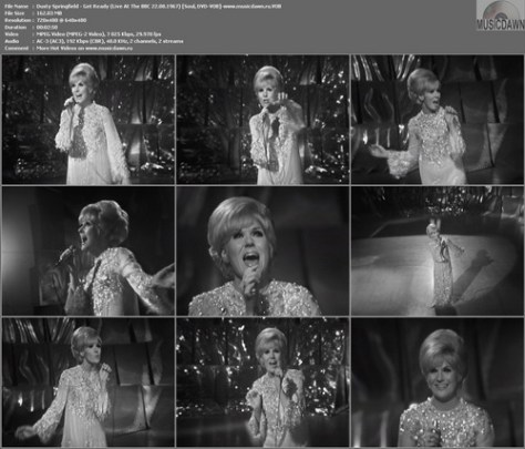 Dusty Springfield - Get Ready (Live At The BBC 22.08.1967) DVD-VOB