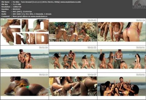 Flo Rida - Turn Around (5,4,3,2,1) {2010, Electro, HDrip}