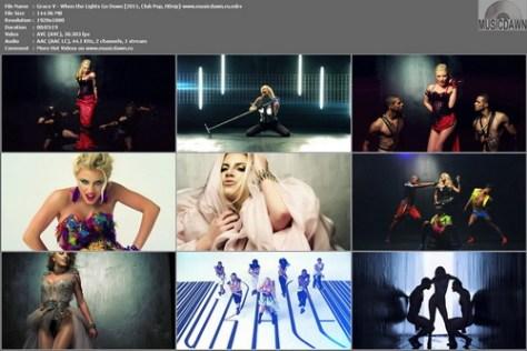 Grace V - When the Lights Go Down (2011, Club Pop, HDrip)