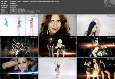 Heaven ft. Glance - Sexy Girl (2010, Dance, HDrip 1080p)